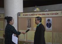 Triển lãm Văn thư triều Nguyễn qua Châu bản