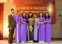 Lễ Công bố và trao quyết định bổ nhiệm Giám đốc Trung tâm Lưu trữ quốc gia I cho bà Trần Thị Mai Hương